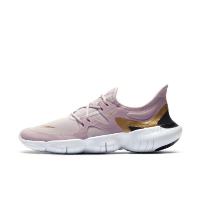 Nike 5.0 tennis shoes in grey & pink, size 8