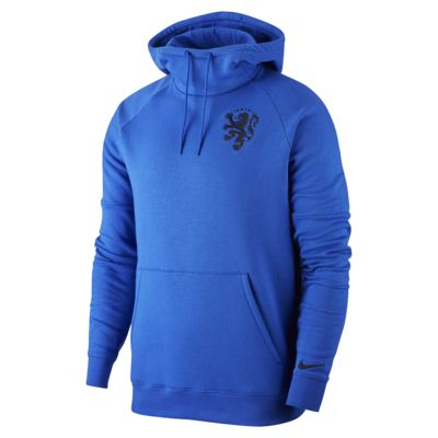 Netherlands Men's Fleece Pullover Football Hoodie