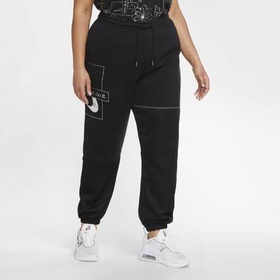 Pantalones de tejido Fleece para mujer (talla grande) Nike Sportswear Icon Clash