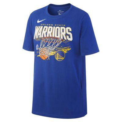 Nike Dri-FIT NBA-t-shirt Golden State Warriors Team Mark för killar