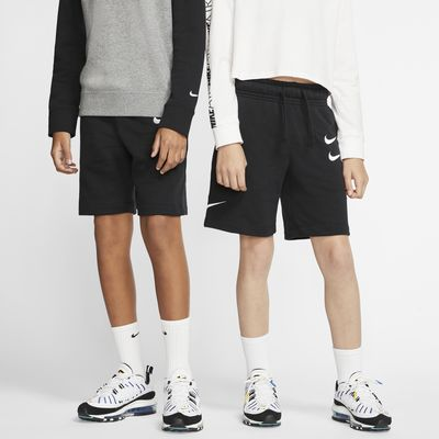 Nike Sportswear Big Kids' French Terry Shorts
