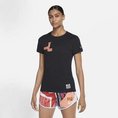 Nike Dri-FIT Berlin løpe-T-skjorte til dame