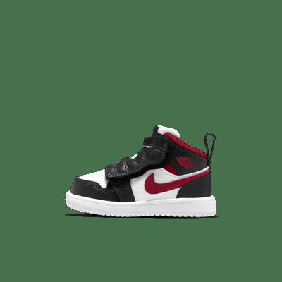 Chaussure Jordan 1 Mid pour Bébé et Petit enfant. Nike LU