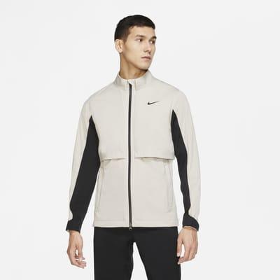 Vendbar Nike HyperShield Rapid Adapt-golfjakke til mænd