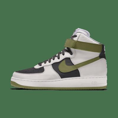 Nike Air Force 1 High By You Custom Women's Shoe. Nike JP