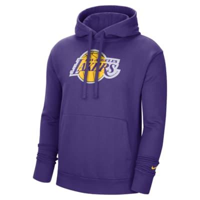 Sweat à capuche Nike NBA Los Angeles Lakers Essential pour Homme