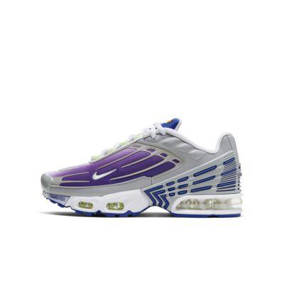 Кроссовки для школьников Nike Air Max Plus 3