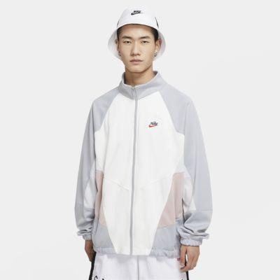 Nike Sportswear Heritage Windrunner herrejakke i strikket polyester