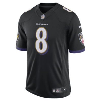 NFL Baltimore Ravens (Lamar Jackson) Men's Limited Speed Machine Football Jersey