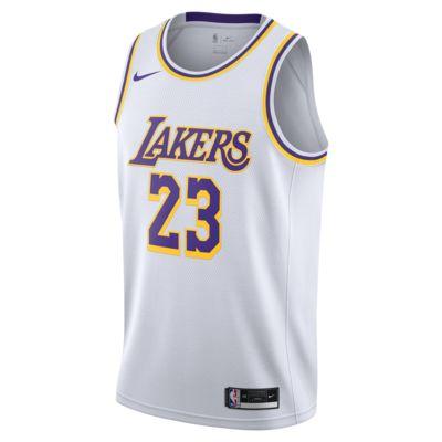 Koszulka Nike NBA Swingman LeBron James Lake Association Edition 2020
