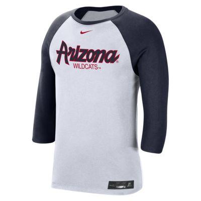 Nike College Dri-FIT (Arizona) Men's 3/4-Sleeve T-Shirt