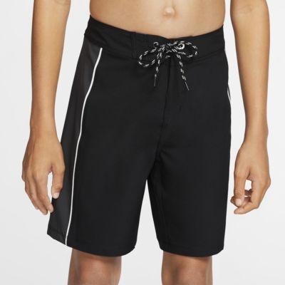 Hurley Phantom Fastlane Solid Boys' Board Shorts