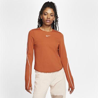 Haut de running à manches longues Nike pour Femme