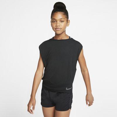 Nike Older Kids' (Girls') Reversible Training Top
