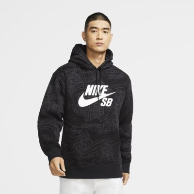 Sweat à capuche de skateboard imprimé Nike SB pour Homme