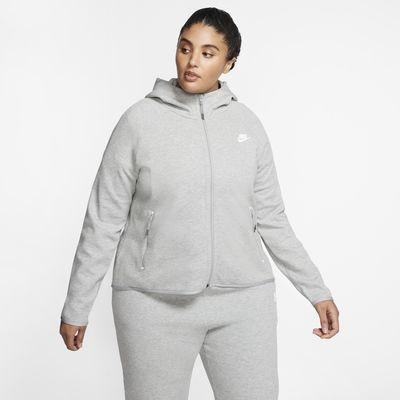 Veste style cape Nike Sportswear Tech Fleece pour Femme (grande taille)
