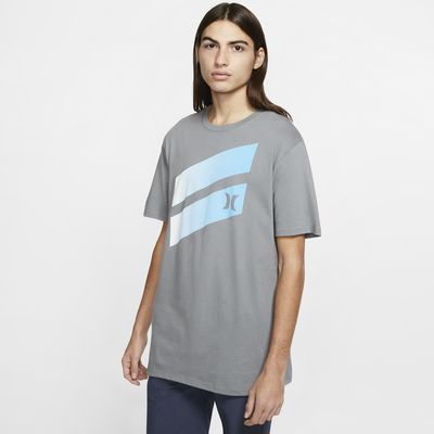 Playera para hombre Hurley Premium Icon Slash Gradient