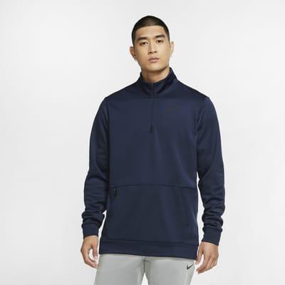 Nike Therma Men's Long-Sleeve 1/4-Zip Training Top