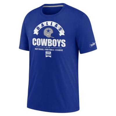 Nike Historic (NFL Cowboys) Men's Tri-Blend T-Shirt