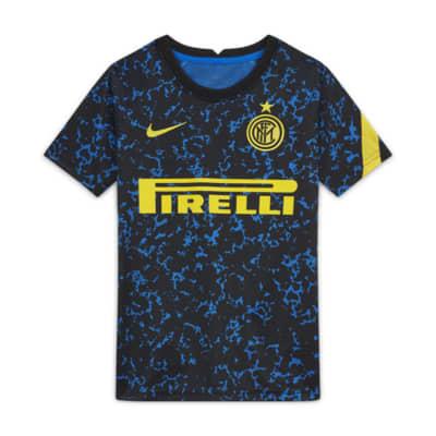 Inter Milan Older Kids' Short-Sleeve Football Top