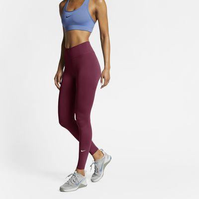 Nike One tights med mellomhøyt liv til dame