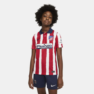 Atlético de Madrid 2020/21 Stadium Home Fußballtrikot für ältere Kinder