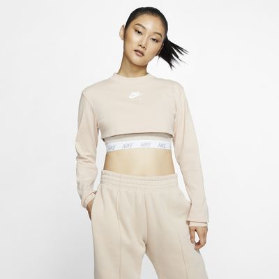 Nike Air Women's Long-Sleeve Crop Top