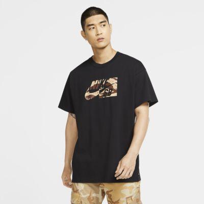 Tee-shirt de skateboard camouflage Nike SB pour Homme