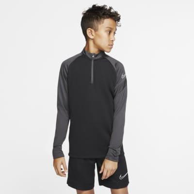 Nike Dri-FIT Academy Pro-fodboldtræningstrøje til store børn