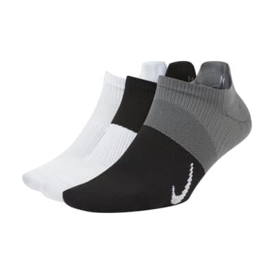 Nike Everyday Plus Lightweight Calcetines cortos de entrenamiento (3 pares) - Mujer