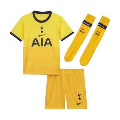 Tottenham Hotspur 2020/21 (tredjedrakt) fotballdraktsett til barn