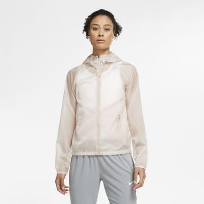 Nike Women's Full-Zip Hooded Running Jacket