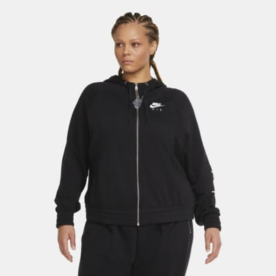 Nike Air Women's Full-Zip Fleece Hoodie (Plus Size)