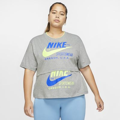 Nike Sportswear Women's Short-Sleeve Top (Plus Size)