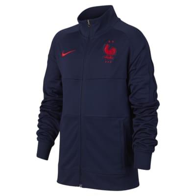 France Older Kids' Football Jacket