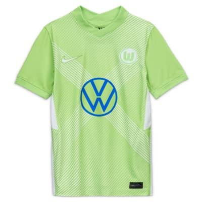 Domácí fotbalový dres VfL Wolfsburg Stadium 2020/21 pro větší děti