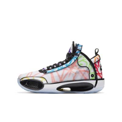 Air Jordan XXXIV Zion PE (GS) 大童篮球童鞋