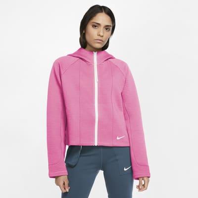 Женская худи со специальной конструкцией и молнией во всю длину Nike Sportswear Tech Fleece