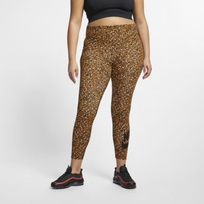 Leggings Nike Sportswear Animal Print (Plus Size) - Donna