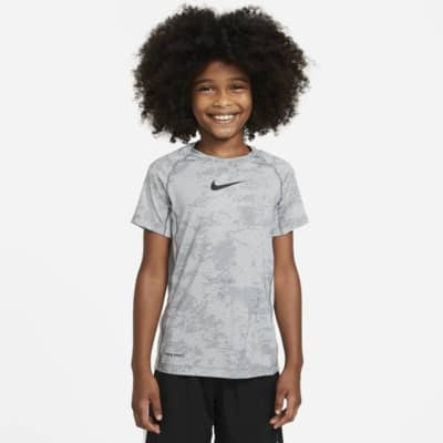 Nike Pro Big Kids' (Boys') Printed Training Top