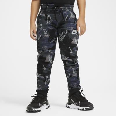 Nike Sportswear Club Fleece 大童(男孩)印花长裤