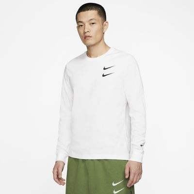 Nike Sportswear Swoosh 男子长袖T恤