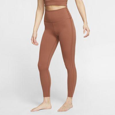 Женские слегка укороченные тайтсы Nike Yoga Luxe