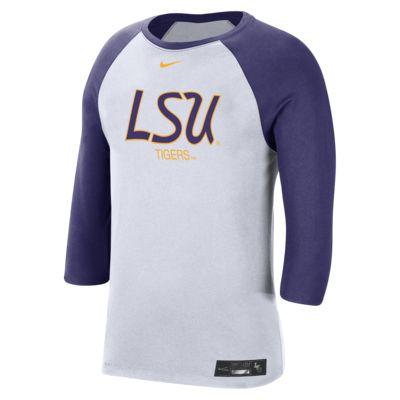Nike College Dri-FIT (LSU) Men's 3/4-Sleeve T-Shirt