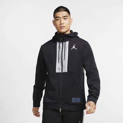 Jordan Air Sudadera con capucha y cremallera completa de tejido Fleece - Hombre