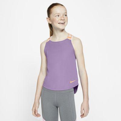 Φανελάκι προπόνησης Nike Dri-FIT για μεγάλα κορίτσια