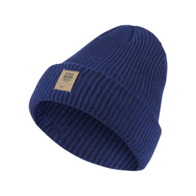 FC Barcelona Cuffed Fisherman Beanie