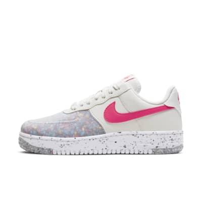 air force 1 donna rosa e bianche