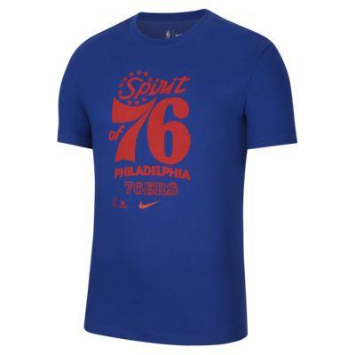 费城 76 人队 Mantra Nike Dri-FIT NBA 男子T恤