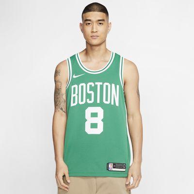 8 Kemba Walker Jersey Boston Celtics Unisexe Respirant Maillot de basket-ball Casual T-shirt de Formation Haut Maillot pour hommes